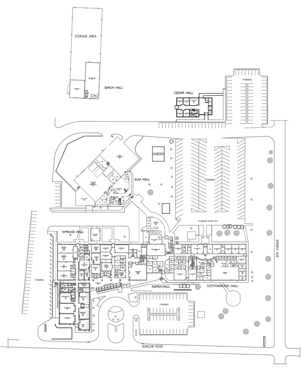 Rocky Mountain College Campus Map.Morgan Community College About Mcc